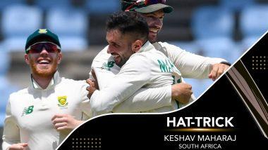 SA vs WI: वेस्टइंडीज के खिलाफ लगातार तीन गेंदों में तीन विकेट लेकर Keshav Maharaj ने रचा इतिहास