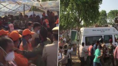 UP: आगरा में 100 फुट से अधिक गहरे बोरवेल में गिरा चार साल का बच्चा सुरक्षित बाहर निकाला गया