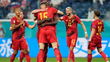 UEFA Euro Cup 2021: बेल्जियम ने रूस को 3-0 से हराया, रोमेलू लुकाकू ने 2, थॉमस मुनिए ने 1 गोल किया