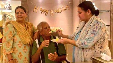 लालू यादव ने लंबे समय बाद परिवार के साथ मनाया बर्थडे, बेटी मीसा भारती ने शेयर की तस्वीरें