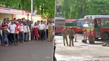 Maharashtra Corona Unlock: आज से मुंबई में Bus सेवा शुरू, प्रतीक्षा नगर बस डिपो के बाहर लोगों की लंबी कतार