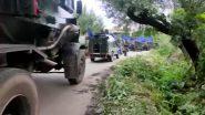 जम्मू कश्मीर के बांदीपोरा में मुठभेड़ में दो ढेर