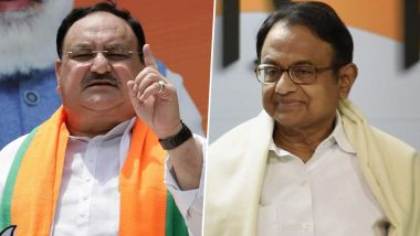 JP Nadda answered Congress leader P Chidambaram's questions on record vaccination, said- India is not running lame