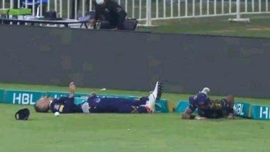 PSL 2021 : फाफ डुप्लेसी को बाउंड्री रोकने के दौरान लगी गंभीर चोट, ले जाना पड़ा अस्पताल