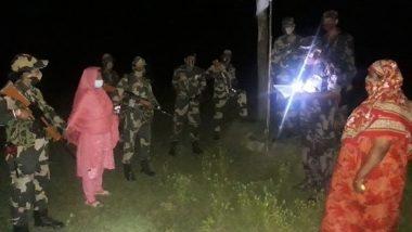 BSF: फ्लैग मीटिंग के दौरान एक महिला बांग्लादेशी नागरिक को BGB को सौंपा गया, भारतीय क्षेत्र में प्रवेश करने का प्रयास कर रही थी