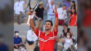 French Open 2021: स्टेफानोस सितसिपास को हराकर नोवाक जोकोविच ने जीता 19वां ग्रैंड स्लैम, बनाया नया रिकॉर्ड