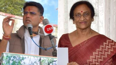 Sachin Pilot scoffs at BJP MP Rita Bahuguna Joshi's demand, saying 'he doesn't have the courage to talk to me'