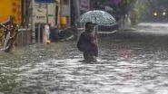 दक्षिण तमिलनाडु में भारी बारिश के कारण झरनों में पानी बढ़ने से अचानक आई बाढ़