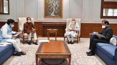 Delhi: PM Narendra Modi and Chief Minister Uddhav Thackeray's meeting continues, talks on Maratha reservation-Corona crisis