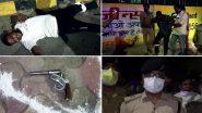 Noida: सेक्टर 24 इलाके में देर रात पुलिस और बदमाशों के बीच मुठभेड़, दो गिरफ्तार