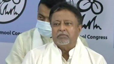 TMC नेता मुकुल रॉय ने केंद्रीय सुरक्षा वापस लेने के लिए गृह मंत्रालय को लिखा पत्र, MHA ने अभी तक नहीं दिया इसका जवाब