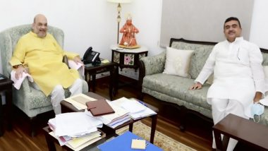 Delhi: गृहमंत्री अमित शाह से मिले बीजेपी विधायक सुवेंदु अधिकारी, पश्चिम बंगाल में हुई हिंसा पर चर्चा