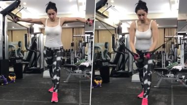 Morning Motivation: Sanjay Dutt's wife Manyata Dutt workouts in a hot style in the gym, Video went Viral