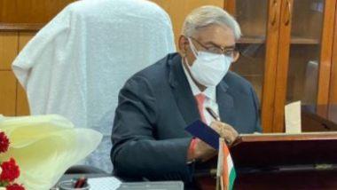 Retired SC Judge Arun Kumar Mishra has taken over as NHRC President