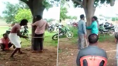 Chhattisgarh: तालाब से मछली चुराने के आरोप में 8 लोगों की पेड़ से बांधकर पिटाई, 10 लोग गिरफ्तार