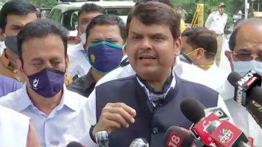 महाराष्ट्र पूर्व सीएम देवेंद्र फडणवीस ने कहा, जब तक मैं मुख्यमंत्री था सरकार ने NSO की सेवा नहीं ली