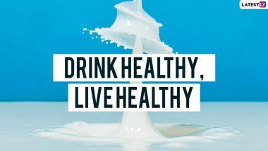 World Milk Day 2021 Slogans and Quotes: वर्ल्ड मिल्क डे पर ये स्लोगन, कहावत और WhatsApp Messages भेजकर बताएं इसके फायदे