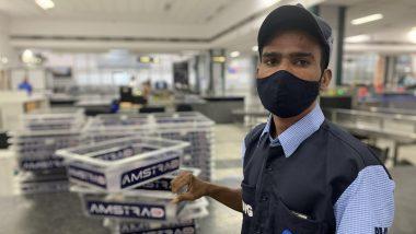 Ahmedabad: Cash worth lakhs faded in front of honesty of housekeeping worker JK Chavda, returned bag full of cash