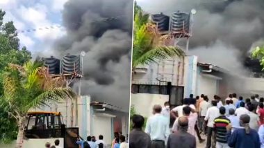 Maharashtra Fire: Massive fire breaks out at chemical factory in Pune, 7 workers killed, 10 missing