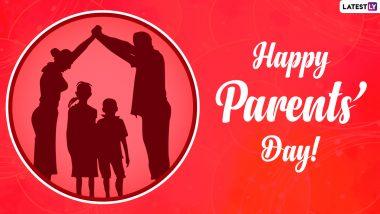 Happy Parents Day 2021 Wishes: ग्लोबल पैरेंट्स डे पर ये WhatsApp Stickers, Messages, HD Images और Quotes भेजकर दें शुभकामनाएं