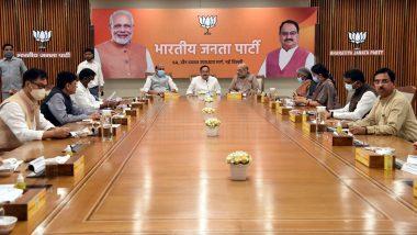 Assembly Election 2022: यूपी समेत 5 राज्यों में अगले साल होने वाले चुनाव को लेकर BJP की बैठक, जेपी नड्डा के साथ अमित शाह समेत ये नेता रहे मौजूद
