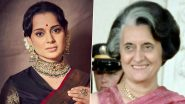 Jayalalita के बाद अब Indira Gandhi के अवतार में Kangana Ranaut करेंगी दर्शकों का मनोरंजन, देखें तैयारी की Photos