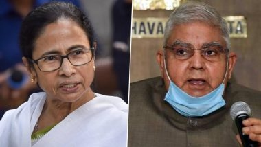 West Bengal: सीएम ममता बनर्जी ने राज्य के गवर्नर को बताया भ्रष्ट, राज्यपाल Jagdeep Dhankhar ने दिया यह जवाब