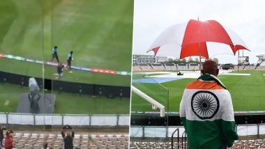 ICC WTC Final 2021: The game of the first day of the WTC final was washed out due to rain, now the match will be played on the sixth day
