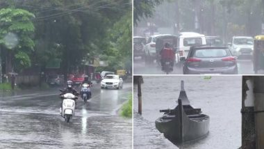 Kerala: कोझिकोड के कुछ हिस्सों में तेज हवाओं के साथ बारिश- देखें तस्वीरें