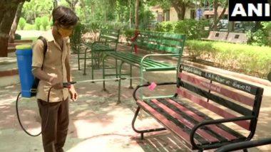 गुजरात: अहमदाबाद में प्रशासन द्वारा अनलॉक की तैयारी, पब्लिक प्लेस-बाजार और होटलों को किया जा रहा है सैनिटाइज