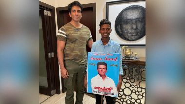The fan reached Mumbai from Hyderabad on foot barefoot to meet Sonu Sood, the actor made this appeal to the people by sharing the photo