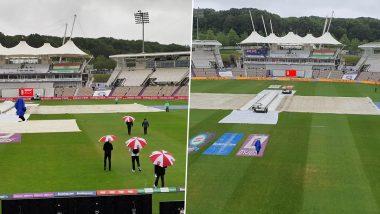 ICC WTC Final 2021: साउथम्प्टन में ही रही है झमाझम बारिश, BCCI ने बताया- नहीं होगा पहले सेशन का खेल