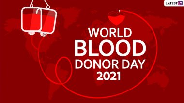 World Blood Donor Day 2021: World Blood Donor Day encourages to donate blood, know theme, history and importance