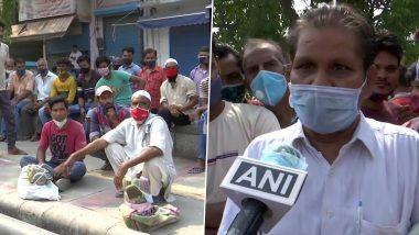 Delhi: दिहाड़ी मजदूरों पर लॉकडाउन की मार, काम की तलाश में भटक रहे श्रमिक