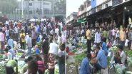 Delhi Unlock: कोरोना की तीसरी लहर की चेतावनी के बीच दिल्ली के बजारों में उमड़ रही भीड़