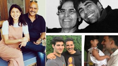 Akshay Kumar, Anushka Sharma समेत बॉलीवुड के इन सितारों ने Fathers Day 2021 पर अपने पिता के लिए लिखा ये स्पेशल मैसेज