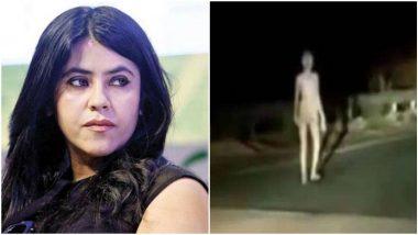 Ekta Kapoor ने शेयर किया एलियन जैसा दिखने वाले रहस्यमयी जीव का हैरान कर देने वाला Video, आप भी जाएंगे डर!