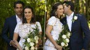 PHOTOS: Evelyn Sharma और Tushaan Bhindi की शादी की खूबसूरत तस्वीरें साईं सामने, रोमांटिक स्टाइल में दिखा कपल