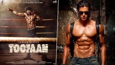Farhan Akhtar स्टारर फिल्म 'Toofan' की रिलीज डेट की घोषणा से खुश हुए Hritik Roshan, कहा- इंतजार नहीं कर सकता