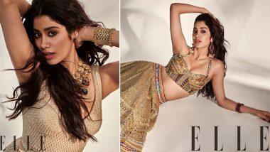 Janhvi Kapoor Hot Photoshoot: जाह्नवी कपूर ने अपनेइंडो-वेस्टर्न अवतार मेंयुवा एक्ट्रेसेस को किया क्लीन बोल्ड