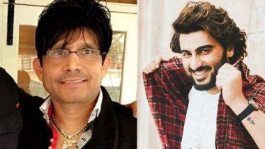 गोविंदा के बाद KRK ने लिया Arjun Kapoor का नाम, बताया बॉलीवुड का असली मर्द