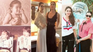 Karishma Kapoor के Birthdayपर उमड़ा बहन Kareena Kapoor का प्यार, Video शेयर कर कहा- हैप्पी बर्थडे