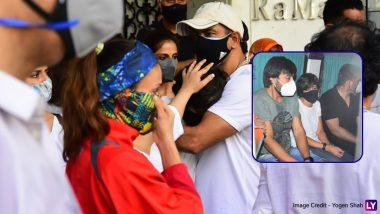 PHOTOS: पति Raj Kaushal को अंतिम विदाई देते समय फूट-फूटकर रोती दिखी Mandira Bedi, Ronit Roy ने संभाला