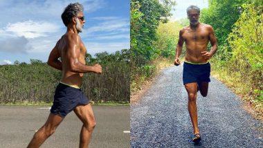 कोरोना से जंग जीतने के बाद रोजाना दौड़ लगाते हैं Milind Soman, फोटो शेयर करके लिख दी ये बात