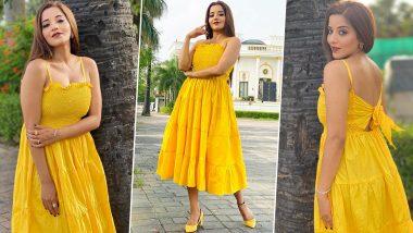 Monalisa Hot Photos: भोजपुरी एक्ट्रेस मोनालिसा ने यलो कलर की ड्रेस पहनकर गार्डन में करवाया बोल्ड फोटोशूट, फैंस बोले- आग लगा दी