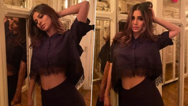 Naagin actress Mouni Roy gifted her hot photos to the fans, this avatar was seen in black outfit