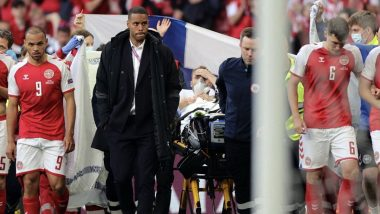 UEFA Euro Cup 2021: Christian Ericsson faints during Euro match, hospitalized