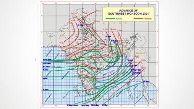 Monsoon 2021: देश के अधिकांश हिस्सों में मानसून ने दी दस्तक, इन राज्यों में आगे बढ़ने के लिए स्थितियां हुई अनुकूल