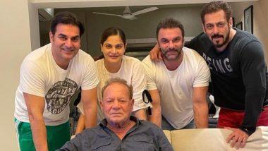 Salman Khan ने फादर्स डे के मौके पर पिता सलीम खान के साथ शेयर की परिवार की लेटेस्ट तस्वीरें