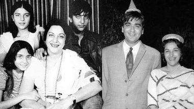Nargis Dutt Birthday: नरगिस दत्त के जन्मदिन पर बेटे संजय दत्त ने पुरानी तस्वीरें की शेयर, लिख दी ये बात